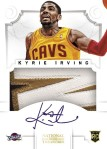 2012-13 National Treasures Basketball Kyrie Vertical