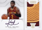 2012-13 National Treasures Basketball Kyrie