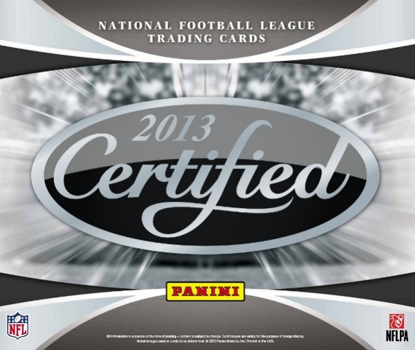 2013 Certified Football Main