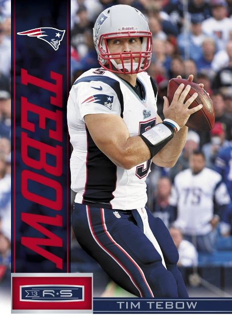2013 Rookies & Stars Base Tim Tebow