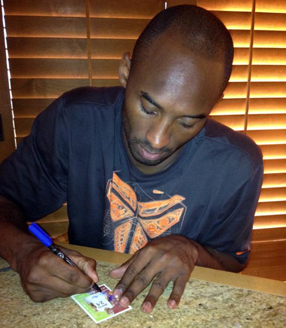 Kobe Signing June 5