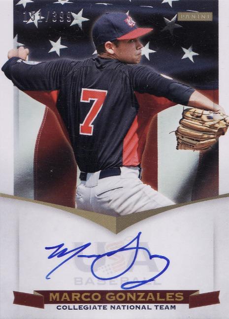 Panini America USA Baseball Gonzales