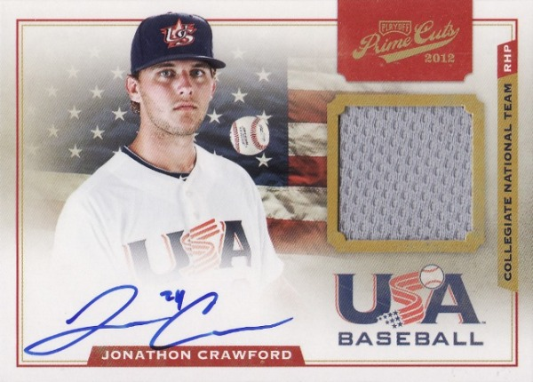 Panini America USA Baseball Jonathon Crawford