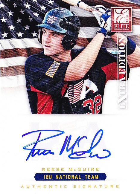 Panini America USA Baseball Reese McGuire