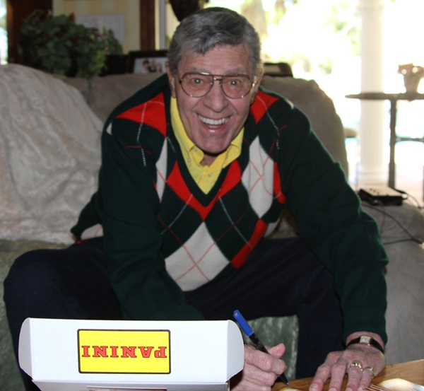 Jerry Lewis Signing 1