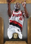 Panini America 2012-13 Gold Standard Basketball Kemp Blazers
