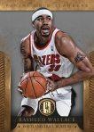 Panini America 2012-13 Gold Standard Basketball Wallace Blazers