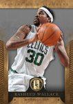 Panini America 2012-13 Gold Standard Basketball Wallace Celtics