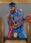 Panini America 2012-13 Gold Standard Basketball Wallace Pistons