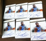 Panini America 2012-13 National Treasues Basketball Autos (27)