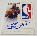 Panini America 2012-13 National Treasures Basketball Logomen (11)
