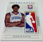 Panini America 2012-13 National Treasures Basketball Logomen (43)