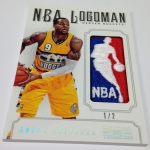 Panini America 2012-13 National Treasures Basketball Logomen (51)