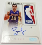 Panini America 2012-13 National Treasures Basketball Logomen (58)