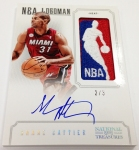 Panini America 2012-13 National Treasures Basketball Logomen (76)
