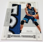 Panini America 2012-13 National Treasures Basketball Plates & Patches (107)