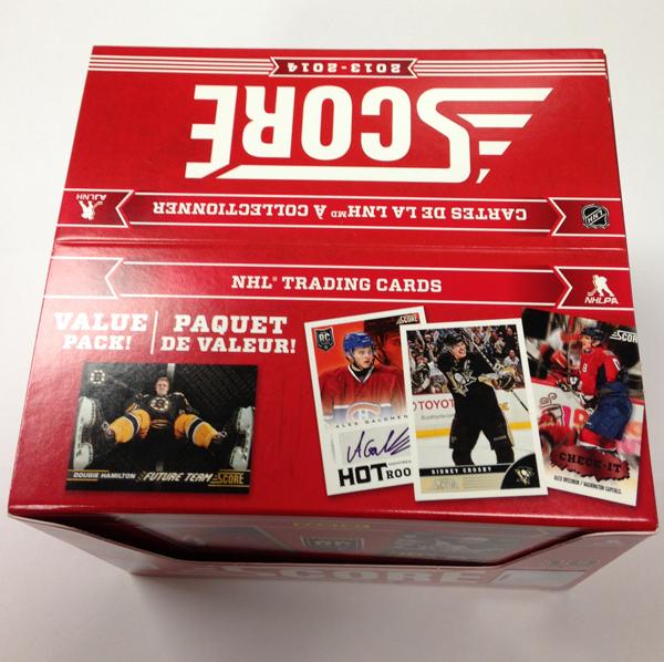 Panini America 2013-14 Score Hockey Hobby QC (2)