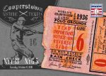 Panini America 2013 Cooperstown Baseball Historic Tickets 12