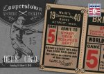 Panini America 2013 Cooperstown Baseball Historic Tickets 13