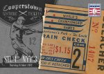 Panini America 2013 Cooperstown Baseball Historic Tickets 14