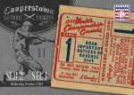 Panini America 2013 Cooperstown Baseball Historic Tickets 15