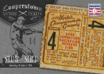 Panini America 2013 Cooperstown Baseball Historic Tickets 16