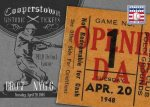 Panini America 2013 Cooperstown Baseball Historic Tickets 19