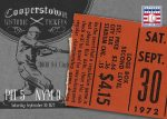 Panini America 2013 Cooperstown Baseball Historic Tickets 20