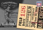 Panini America 2013 Cooperstown Baseball Historic Tickets 21