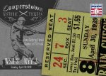 Panini America 2013 Cooperstown Baseball Historic Tickets 22