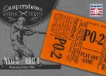 Panini America 2013 Cooperstown Baseball Historic Tickets 25