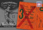 Panini America 2013 Cooperstown Baseball Historic Tickets 3