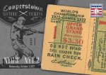 Panini America 2013 Cooperstown Baseball Historic Tickets 4