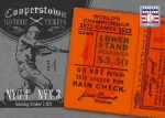 Panini America 2013 Cooperstown Baseball Historic Tickets 5