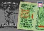 Panini America 2013 Cooperstown Baseball Historic Tickets 6