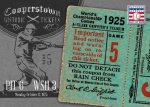 Panini America 2013 Cooperstown Baseball Historic Tickets 7