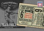 Panini America 2013 Cooperstown Baseball Historic Tickets 9