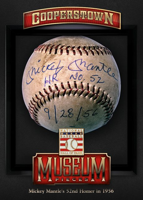 Panini America 2013 Cooperstown Baseball Museum Pieces 11