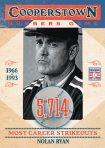 Panini America 2013 Cooperstown Baseball Numbers Game 12