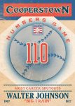 Panini America 2013 Cooperstown Baseball Numbers Game 13