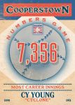 Panini America 2013 Cooperstown Baseball Numbers Game 14