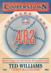 Panini America 2013 Cooperstown Baseball Numbers Game 17