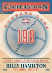 Panini America 2013 Cooperstown Baseball Numbers Game 8
