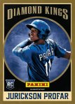 Panini America 2013 National Rookie Diamond Kings 1
