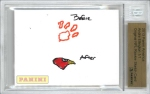 Panini America 2013 NFL Sketch Card Andre Ellington 2a