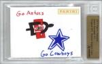 Panini America 2013 NFL Sketch Card Gavin Escobar 2a