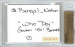 Panini America 2013 NFL Sketch Card Giovani Bernard 1a