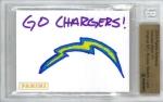Panini America 2013 NFL Sketch Card Keenan Allen 1a