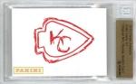 Panini America 2013 NFL Sketch Card Knile Davis 1a