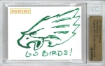 Panini America 2013 NFL Sketch Card Matt Barkley 1a